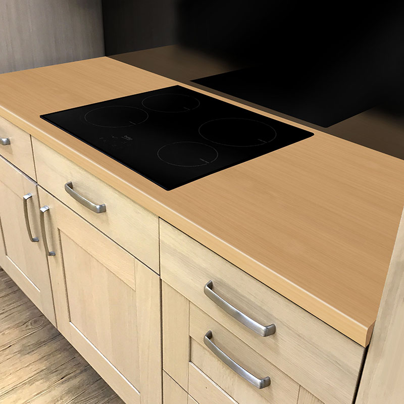 Axiom Cotswold Beech Matt 665mm Breakfast Bar