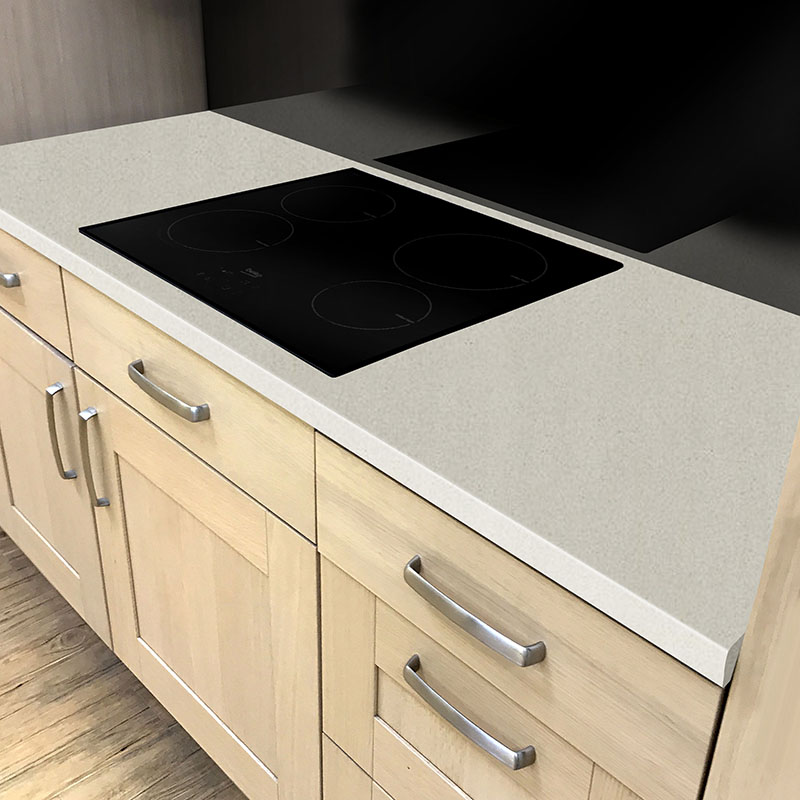 Axiom Paloma Light Grey Matt 600mm Worktop