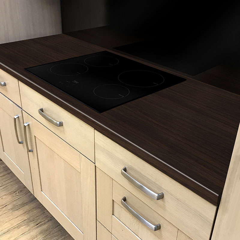 Axiom Scarlet Oak Puregrain 600mm Worktop