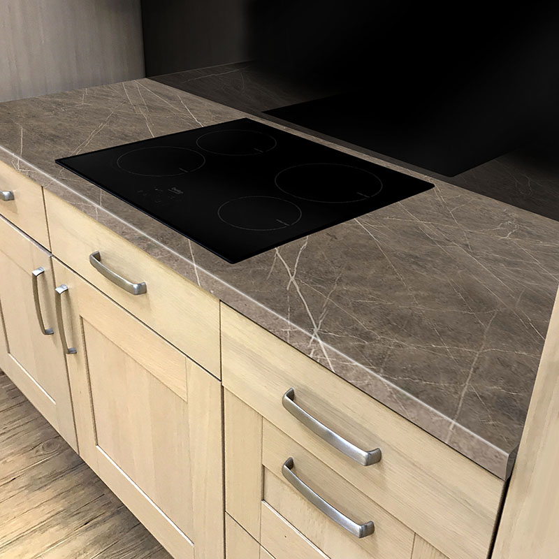 Axiom Terra Grafite 600mm Worktop