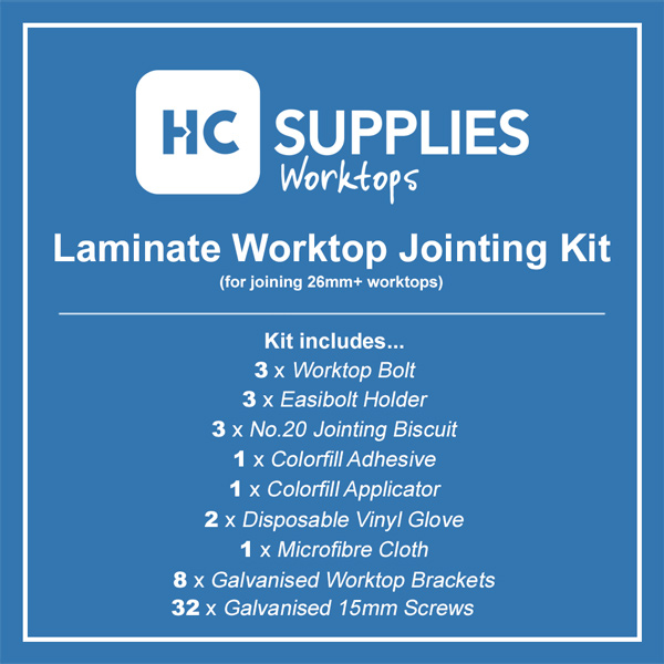 Laminate Worktop Jointing Kit