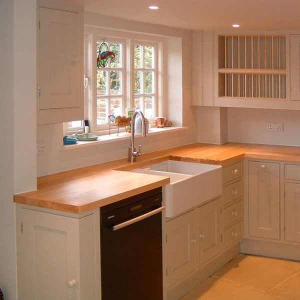 Maple Kitchen Worktops: Solid Wood Maple 3000mm X 900mm X 40mm Stave Worktops In Solid Wood Finish