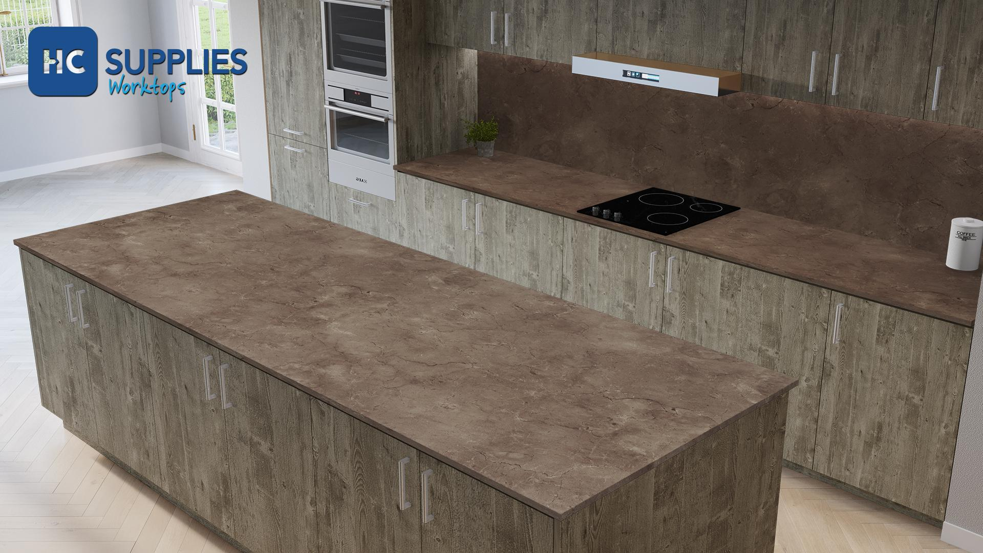 Axiom Marfil Pomice 600mm Worktop