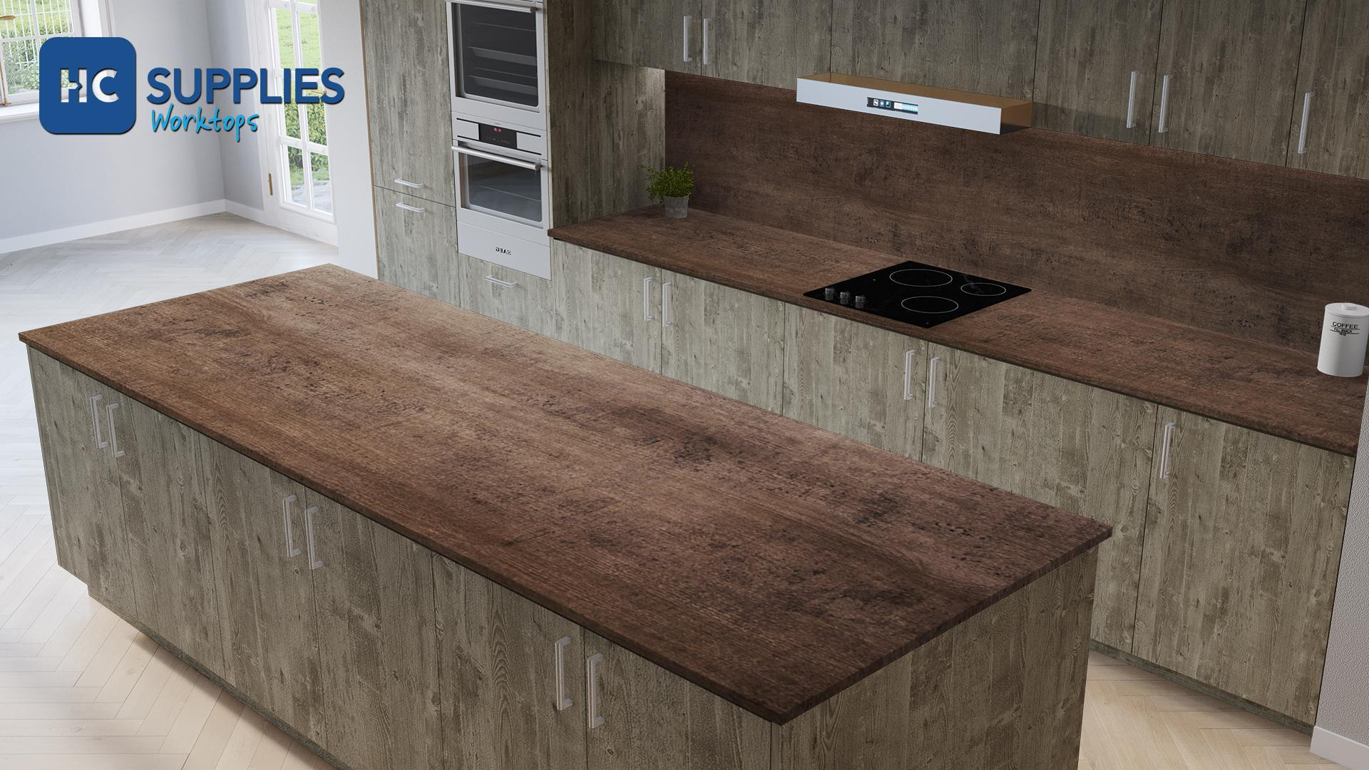 TopShape Sherwood 650mm Worktop