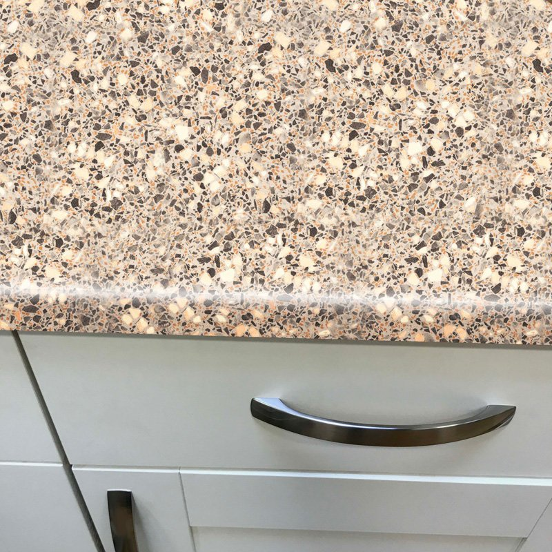 Duropal Anthracite Peru 900mm Breakfast Bar