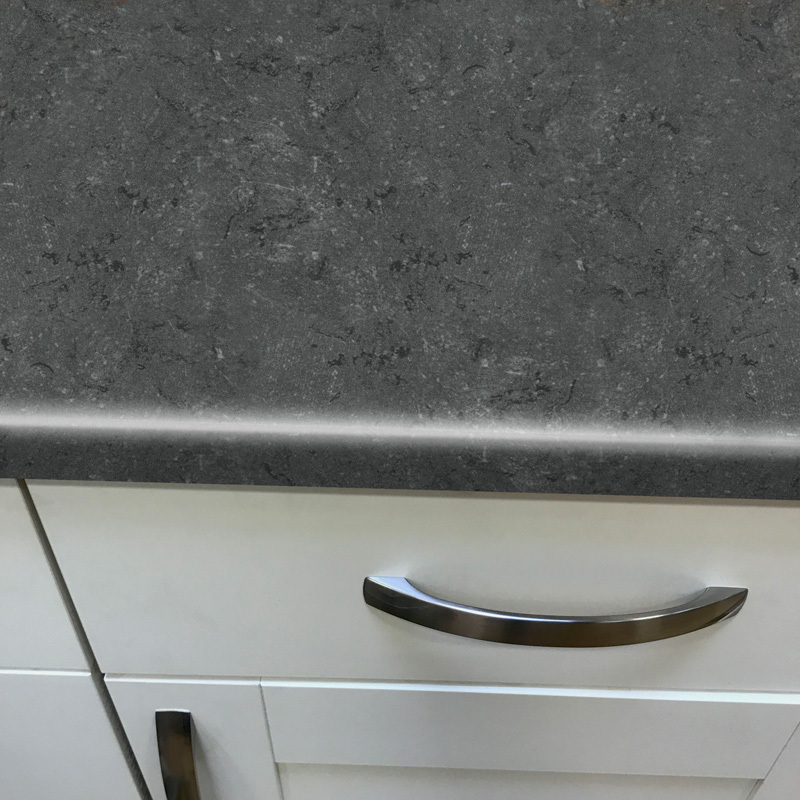 Duropal Black Limestone 900mm Breakfast Bar