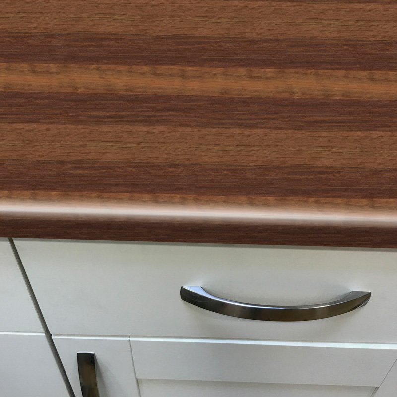 Duropal Block Walnut 900mm Breakfast Bar