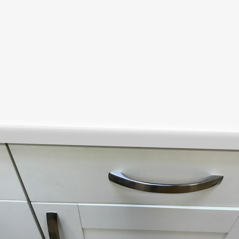Duropal Icy White 900mm Breakfast Bar