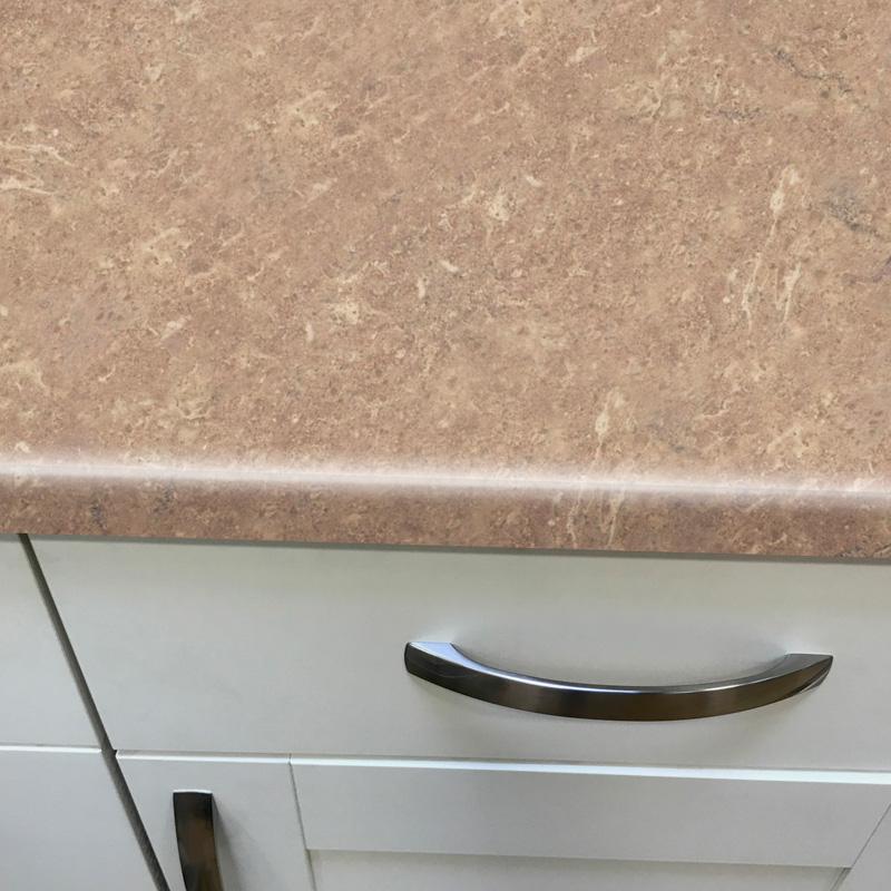 Duropal Jura Marble 2050mm X 600mm X 40mm Worktop In Top