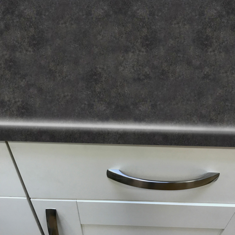 Duropal Tivoli 2050mm X 600mm X 40mm Worktop In Crystal Stone Finish