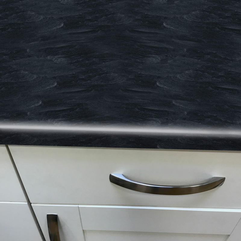 Duropal Welsh Slate 4100mm X 600mm X 40mm Worktop In Fine