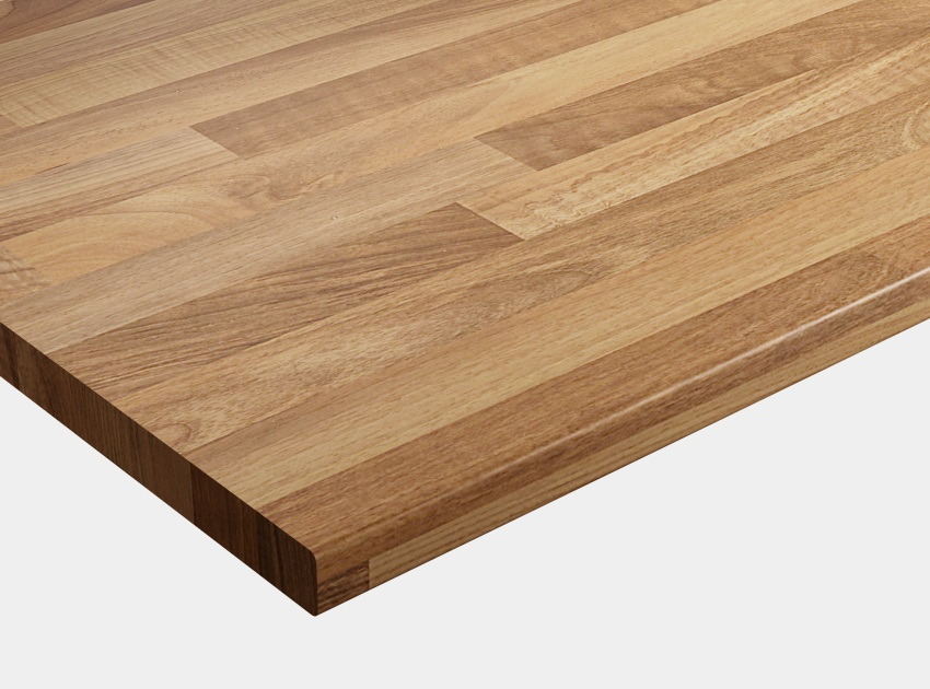 WilsonArt Walnut Block Matt  Worktop Product Image