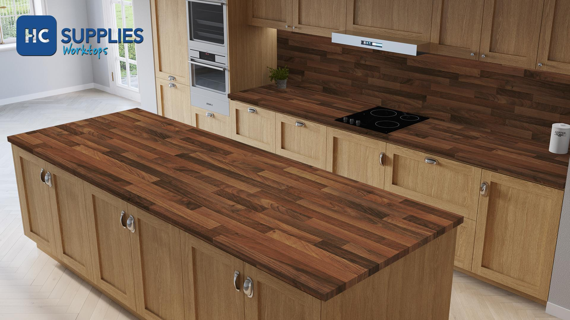 Tandem Walnut Butcher Block  Worktop Product Image