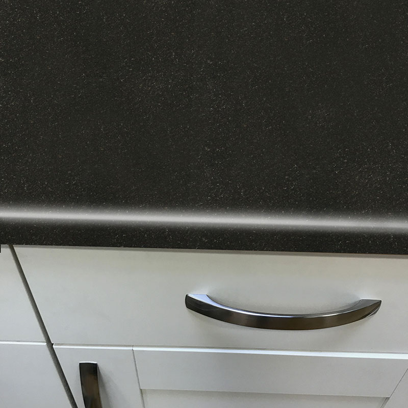 Axiom Avalon Granite Black Etchings 600mm Worktop