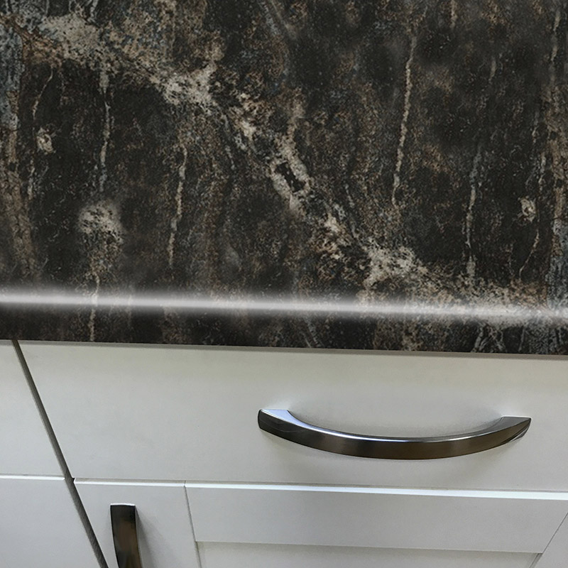 Axiom Black Storm Gloss 900mm Breakfast Bar