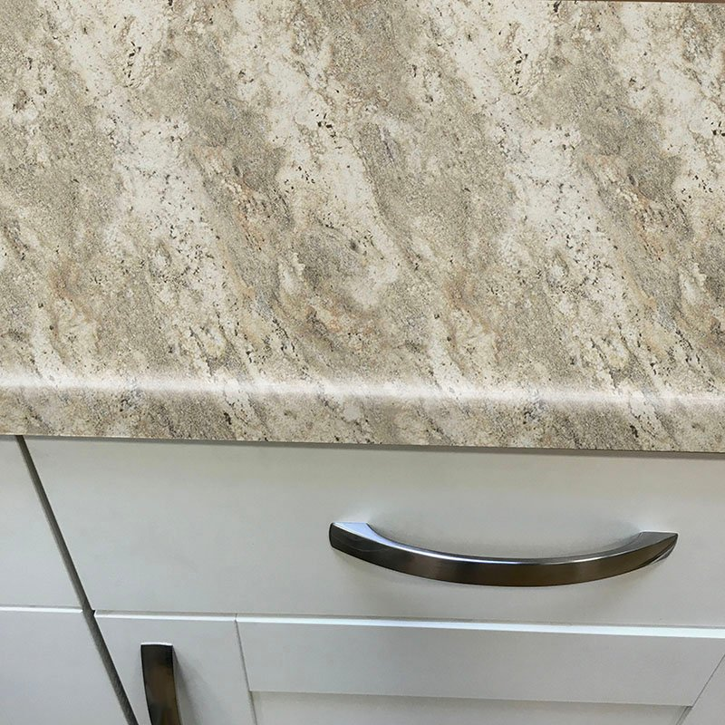Axiom Classic Crystal Granite Etchings 600mm Worktop