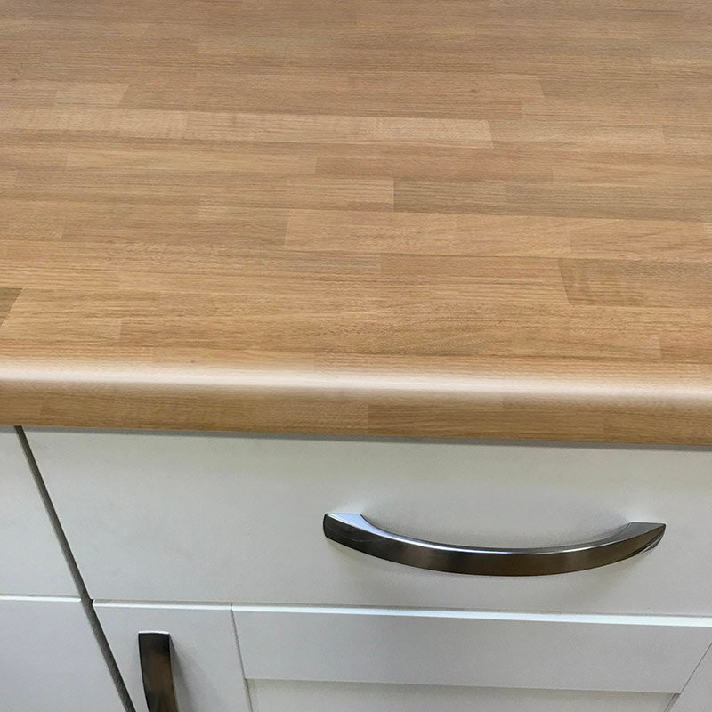 Axiom Newcastle Oak Lumber 600mm Worktop