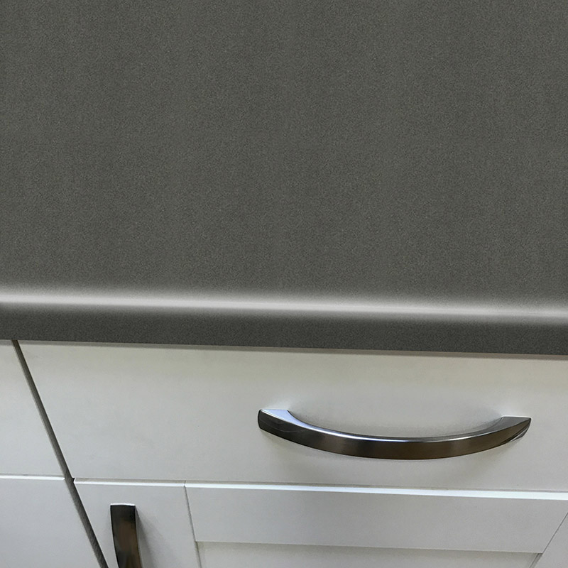 Axiom Paloma Dark Grey Matt 900mm Breakfast Bar
