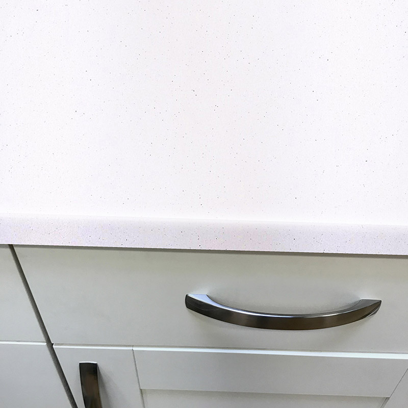 Axiom Platinum White 600mm Worktop