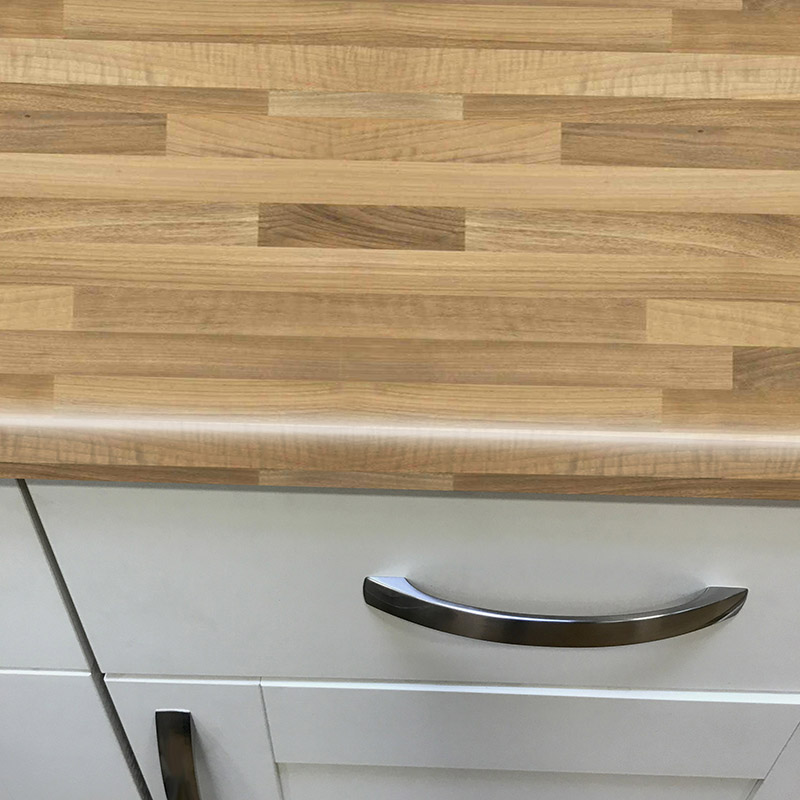 Axiom Walnut Butcher Block Woodland 600mm Worktop