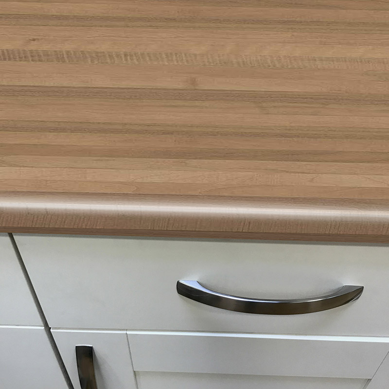 Axiom Walnut Microplank Woodland 900mm Breakfast Bar