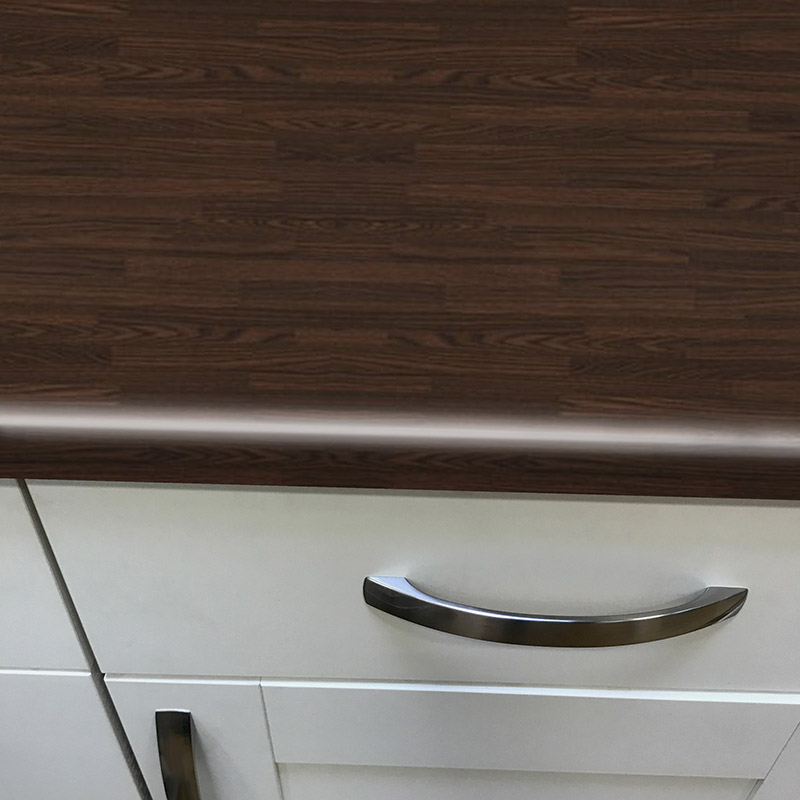 Axiom Wenge Butcher Block Lumber 600mm Worktop