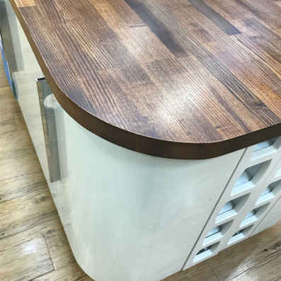 Solid Wood Euro Walnut Worktops