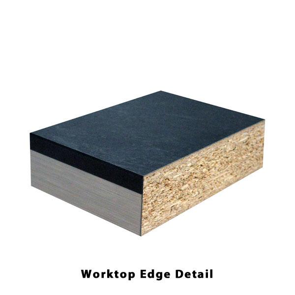 Artis Ashford Black Granite 3000mm X 600mm X 40mm Worktop