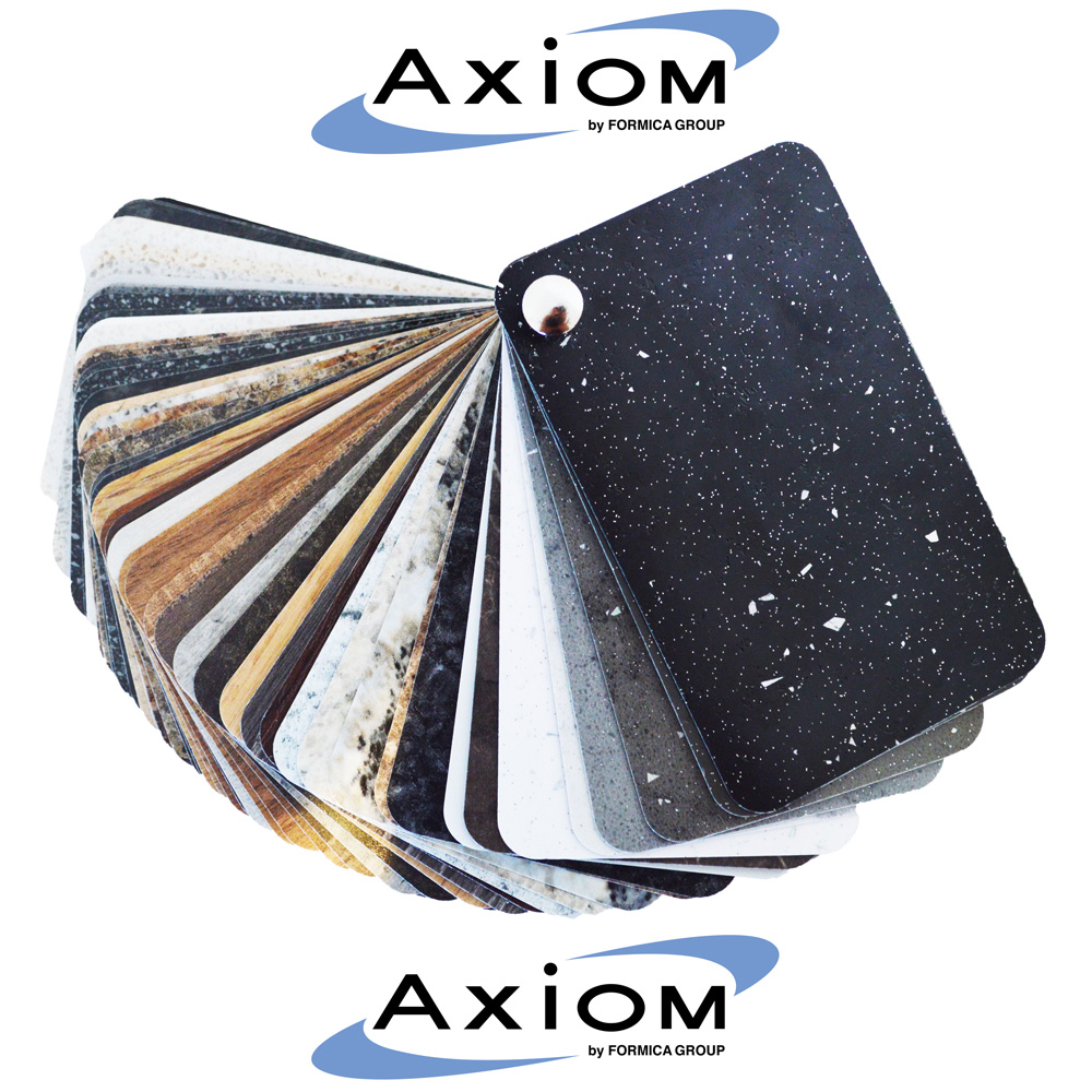 Axiom Platinum Graphite 1210mm Splashback