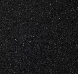 Nuance Black Sparkle Acrylic Worktops