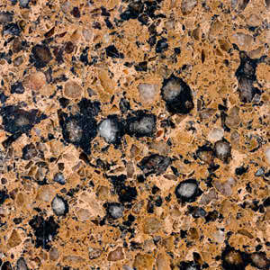 Silestone Quartz Brazillian Brown 650mm Polished Worktop