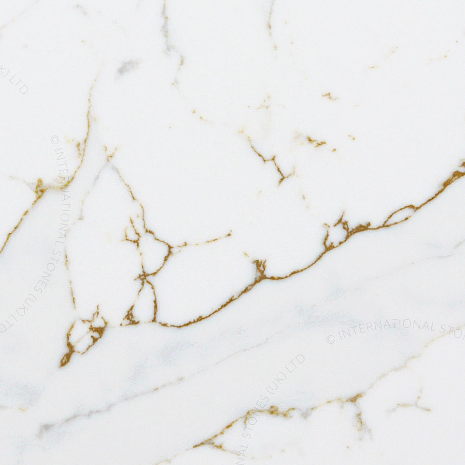Simply Quartz Calacatta Gold Supreme Quartz Kitchen Worktops