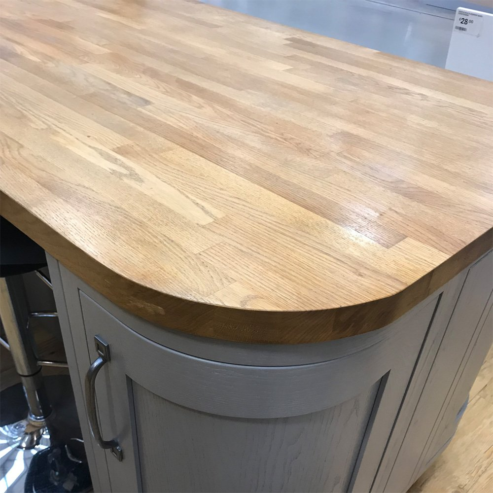 No.2 Best Selling Product In This Category: Solid Wood Oak Worktops