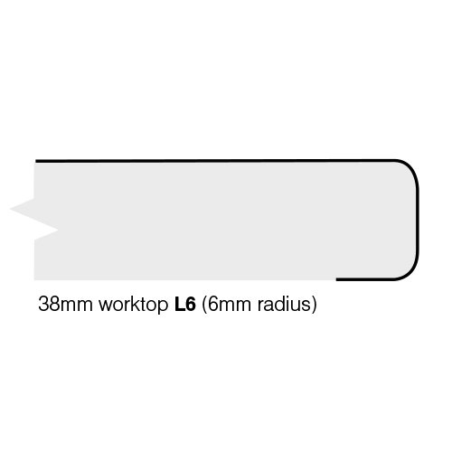 Trade-Top Butchers Block Laminate Worktop - 600mm