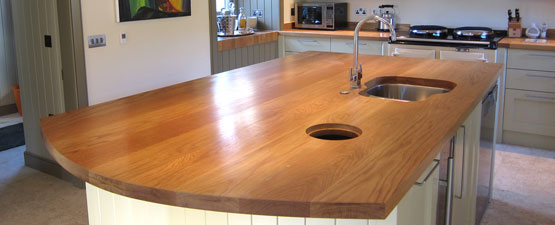 40mm Oak Worktops