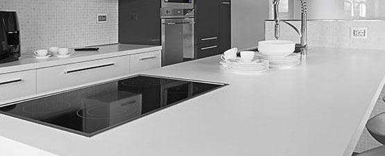 White Kitchen Worktops 900mm worktops | 900mm wide worktops | trade prices