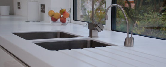 Acrylic Kitchen Worktops