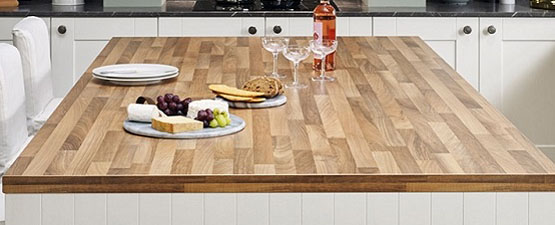 Beech effect Laminate Worktops