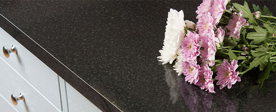 Black Gloss Laminate Worktops