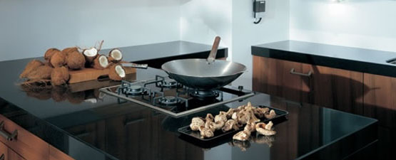 Black Granite Kitchen Worktops