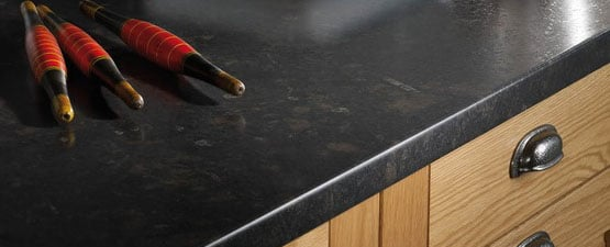 Black Laminate Worktops