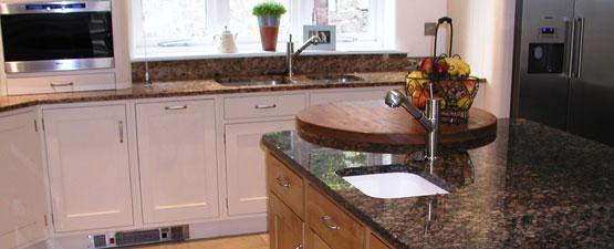 Brown Granite Worktops