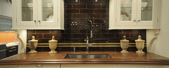 Brown Kitchen Sinks