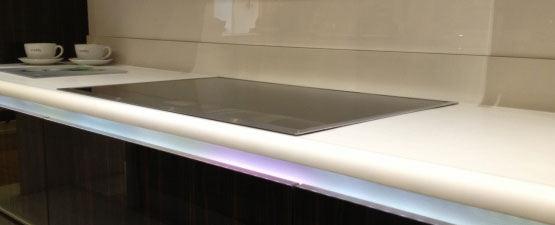 Corian Kitchen Upstands