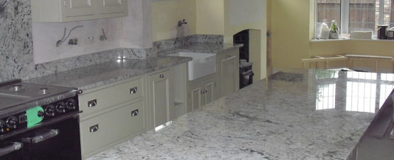 Cream Granite Worktops
