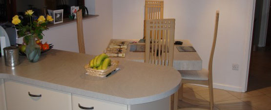 Curved Worktops