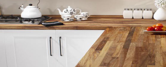 Dark Wood Worktops