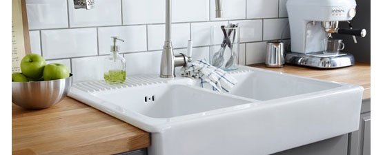 Double Bowl Ceramic Kitchen Sinks