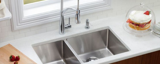 Double Undermount Sinks