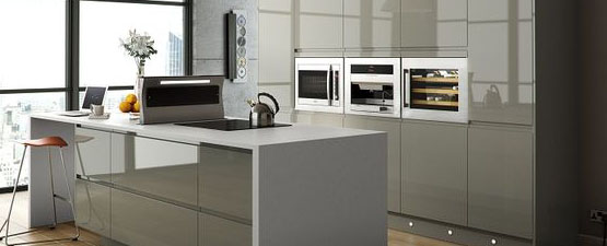 Grey laminate Worktops